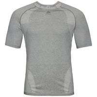 T-shirt technique HIKE pour homme, grey melange, large