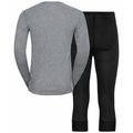 Men's ACTIVE WARM ECO 3/4 Baselayer Set, black, large