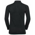 Top a collo alto con mezza zip e manica lunga Active Warm Eco per bambini, black, large
