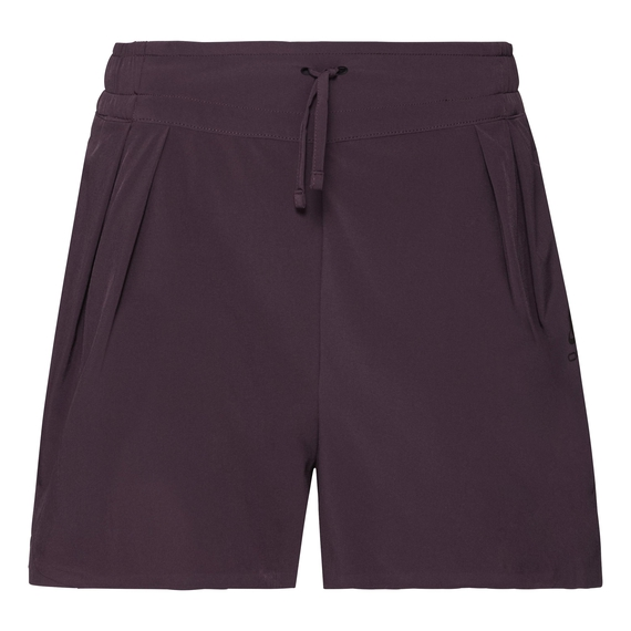 Women's MAHA WOVEN Shorts, plum perfect, large