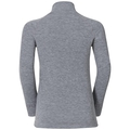 ACTIVE WARM KIDS Funktionsunterwäsche Langarm-Shirt, grey melange, large