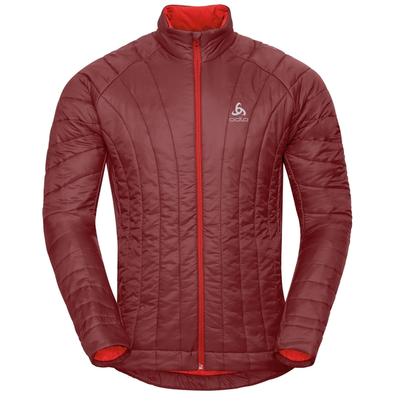 Jacket insulated FLOW COCOON ZW, syrah, large