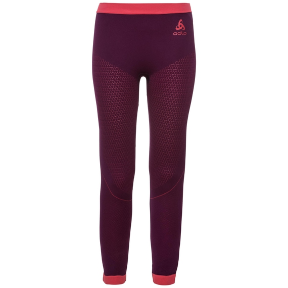 PERFORMANCE WARM KIDS Base Layer Pants, pickled beet - hibiscus, large