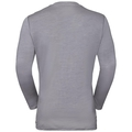 NATURAL + LIGHT Langarm-Shirt, grey melange, large