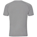 T-shirt s/s AION, grey melange with print FW17, large