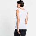 Women's PERFORMANCE X-LIGHT V-Neck Base Layer Singlet, white, large