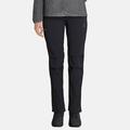 Kürzer geschnittene Damen WEDGEMOUNT Hose, black, large