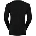 Natural 100 Merino Warm baselayer shirt men, black, large