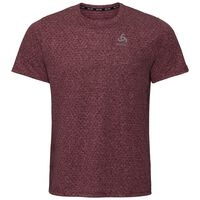 MILLENNIUM LINENCOOL Baselayer T-Shirt, zinfandel melange, large