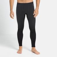 Men's PERFORMANCE WARM ECO Baselayer Pants, black - odlo graphite grey, large