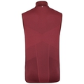 Gilet IRBIS HYBRID SEAMLESS X-WARM, syrah - fiery red, large