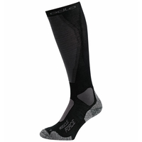 Uniseks MUSCLE FORCE ACTIVE WARM LIGHT-skisokken, black - odlo graphite grey, large