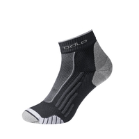 RUNNING BTS Kurzsocken, black - white, large