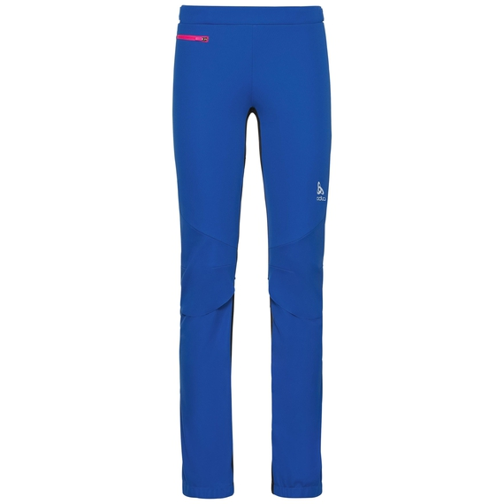 Pants AEOLUS windstopper®, lapis blue - black, large
