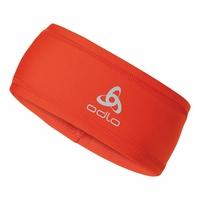 Unisex hoofdband POLYKNIT, spicy orange, large