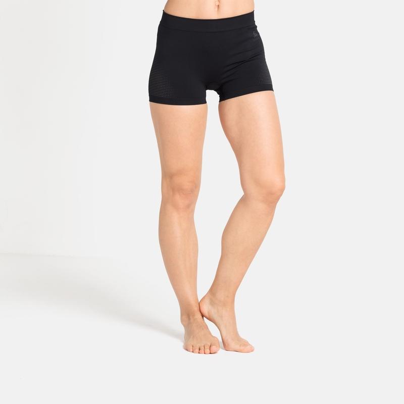 Damen PERFORMANCE WARM ECO Sport-Panty, black - odlo graphite grey, large