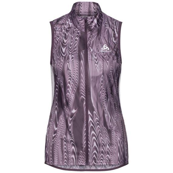 Vest OMNIUS Light, vintage violet - AOP FW18, large