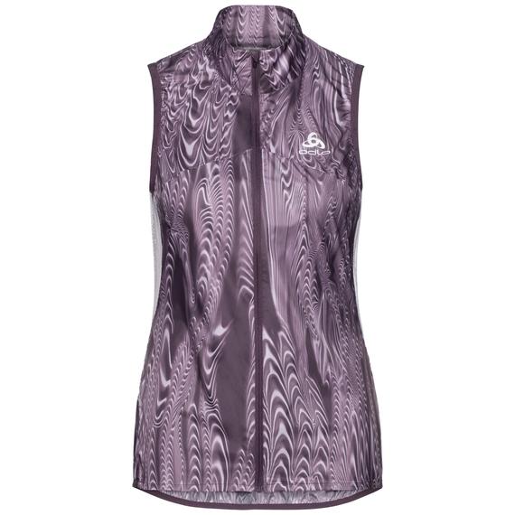 OMNIUS LIGHT Weste, vintage violet - AOP FW18, large