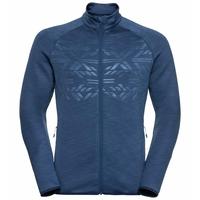 Men's CORVIGLIA KINSHIP EM Midlayer Top, estate blue, large