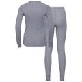ACTIVE WARM-basislaagset voor dames, grey melange, large