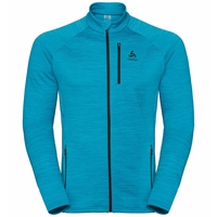 Midlayer full zip MYTHEN, blue jewel, large