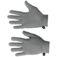 ORIGINALS WARM Kids Gloves, grey melange, large