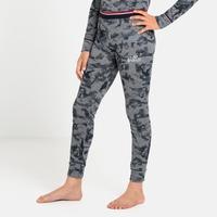 ACTIVE WARM ORIGINALS ECO KIDS Leggings, grey melange - graphic FW20, large