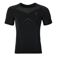 EVOLUTION LIGHT baselayer shirt men, black - odlo graphite grey, large