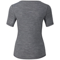 REVOLUTION LIGHT Baselayer Shirt Short-Sleeve, grey melange, large
