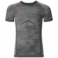 Shirt s/s crew neck EVOLUTION LIGHT Blackcomb, odlo steel grey - platinum grey, large