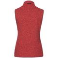 Vest LUCMA X, hot coral melange, large
