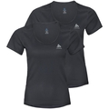 Shirt ACTIVE CUBIC LIGHT 2 Pack ST, ebony grey - black, large