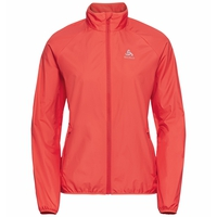 Women's ELEMENT LIGHT Running Jacket, hot coral, large