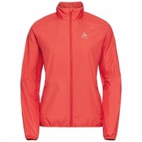 Veste running ELEMENT LIGHT pour femme, hot coral, large