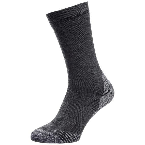 Socks crew CERAMIWOOL CREW, grey melange, large
