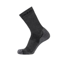 Socks crew CERAMICOOL CREW, odlo steel grey, large