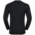 Lot de deux T-shirts à manches longues ACTIVE WARM pour homme, black - diving navy, large