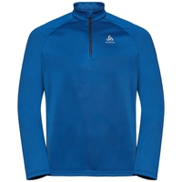 Men's PILLON 1/2 Zip Midlayer, energy blue, large