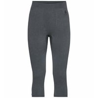 Men's PERFORMANCE WARM ECO Baselayer 3/4 Pants, grey melange - black, large