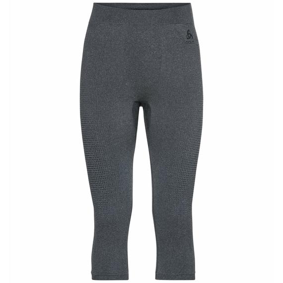 Herren PERFORMANCE WARM ECO ¾-Baselayer-Hose, grey melange - black, large