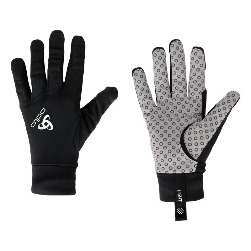 Unisex AEOLUS LIGHT Gloves, black, large