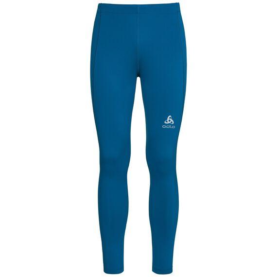 SLIQ running Tights men, mykonos blue, large