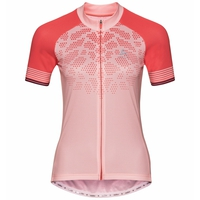 Women's ELEMENT PRINT Short-Sleeve Cycling Jersey, blossom - dubarry, large