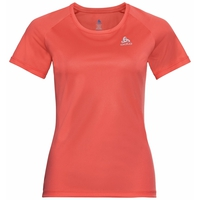 ELEMENT Light-T-shirt voor dames, hot coral, large