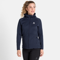 Midlayer con cappuccio HAVEN X-WARM da donna, diving navy, large