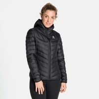 Women's HOODY COCOON N-THERMIC WARM Insulated Jacket, black, large