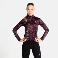 The Zeroweight Ceramiwarm long sleeve jersey, winetasting, large