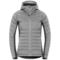 Jacket insulated SARA COCOON, odlo concrete grey, large