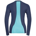 Ceramicool pro Maglia baselayer a maniche lunghe donna, peacoat - blue radiance, large