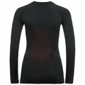 Women's I-THERMIC Baselayer Top, black, large